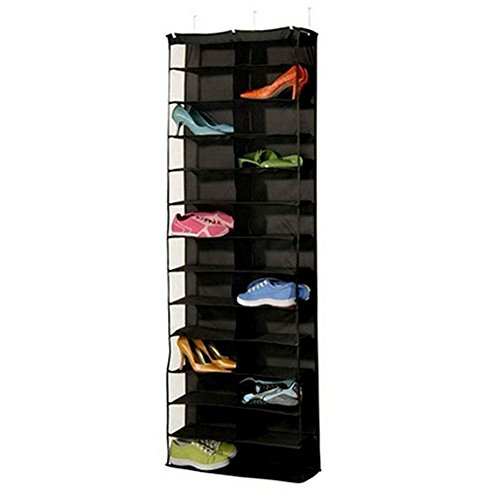 RedSonicsTM-26-Pockets-Hanging-Storage-Bags-Door-Foldable-Wardrobe-Hanging-Bags-Save-Space-Organizer-Shoes-Underpants-Storage-Bag-0-2