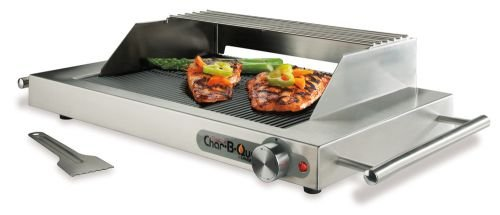 Ribbed-Glass-Electric-Grill-with-Windscreen-Splatter-Shield-Warmer-Rack-0