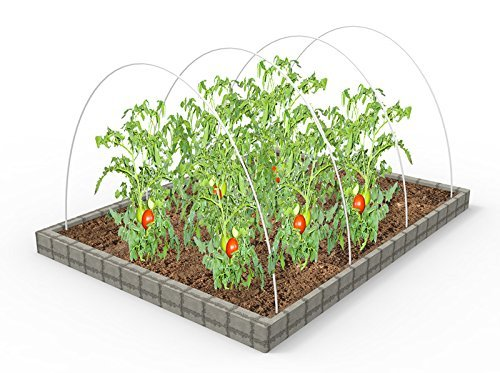 RowTunnel14-Dia-7ft-Long-Hoops-For-Greenhouse-White-Color-Plant-Cover-Frost-Blanket-For-Season-Extension-Support40pack-0-0