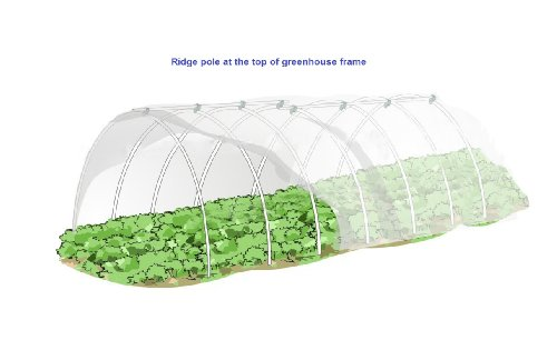 RowTunnel5X24FT-Mini-Greenhouse-Hoop-House-KitsPlant-Cover-Frost-Blanket-For-Season-Extension-and-Seed-Germination-12pcs-Arch-H-2734-Arch-Span-51-66-0
