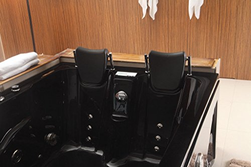 SDI-Deals-Indoor-Jetted-Hydrotherapy-Bathtub-Hot-Tub-Spa-BLACK-2-Person-052A-Black-0-0