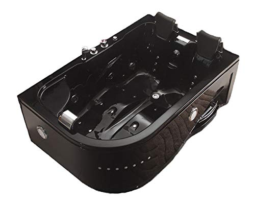 SDI-Deals-Indoor-Jetted-Hydrotherapy-Bathtub-Hot-Tub-Spa-BLACK-2-Person-052A-Black-0