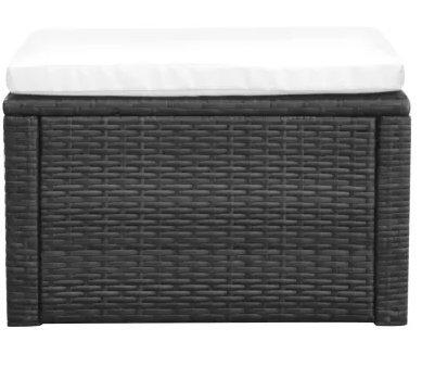 SKB-family-Footstool-Ottoman-Poly-Rattan-21x21x118-Black-Storage-Seat-Bench-Foot-0-0