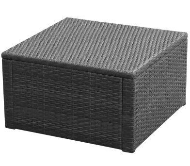 SKB-family-Footstool-Ottoman-Poly-Rattan-21x21x118-Black-Storage-Seat-Bench-Foot-0-1