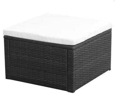 SKB-family-Footstool-Ottoman-Poly-Rattan-21x21x118-Black-Storage-Seat-Bench-Foot-0