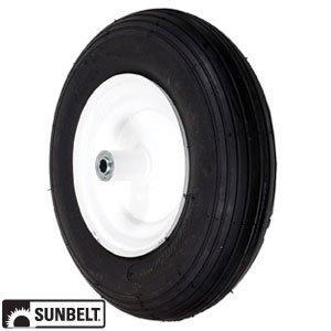 SUNBELT-Wheel-Assembly-Flatproof-Wheelbarrow-48-x-4-x-8-Part-No-B1FP110-0