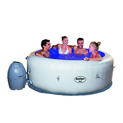 SaluSpa-Paris-AirJet-Inflatable-Hot-Tub-w-LED-Light-Show-0