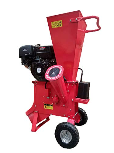 Samson-Machinery-15HP-420CC-Gas-Powered-Wood-Chipper-Shredder-4-Capacity-wMulch-Bag-0