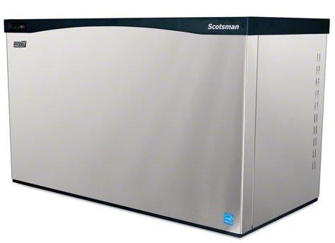 Scotsman-C1448MW-32A-Water-Cooled-1444-Lb-Medium-Cube-Ice-Machine-0