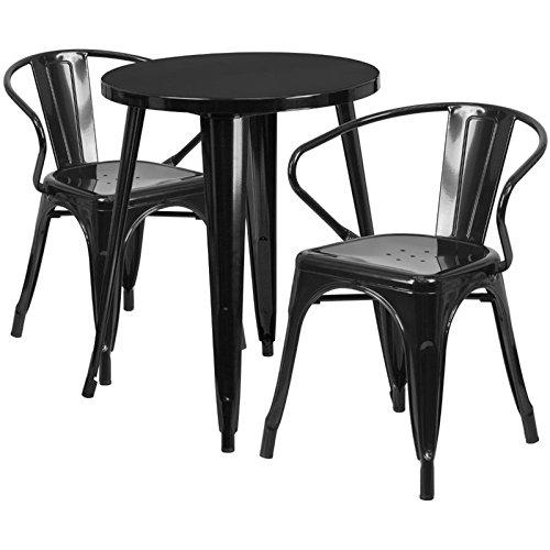Scranton-Co-Round-Metal-Patio-Dining-Set-in-Black-0