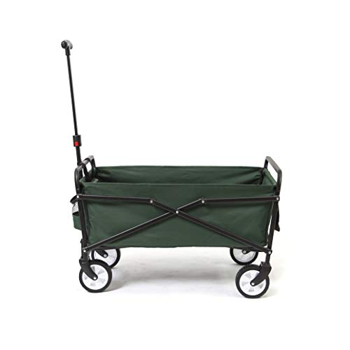 Seina-Heavy-Duty-Compact-Folding-150-Pound-Capacity-Outdoor-Utility-Cart-Green-0