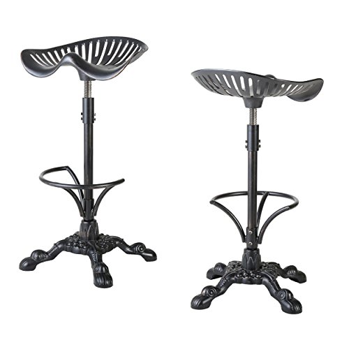 Set-of-2-Morelo-Cast-Aluminum-Swivel-Barstool-0
