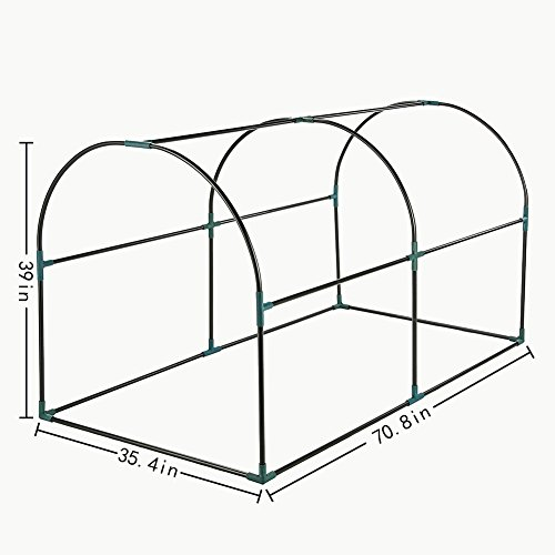 Seven-colors-house-Reinforced-Portable-Mini-Greenhouse-354x708x39-Vegetable-Plant-Mini-Arc-Greenhouse-Clear-Cover-Indoor-Outdoor-Plants-0-0