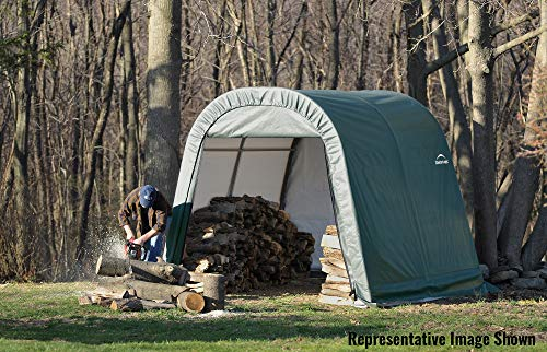 ShelterLogic-71072-Green-10x24x10-Round-Style-Shelter-0-0