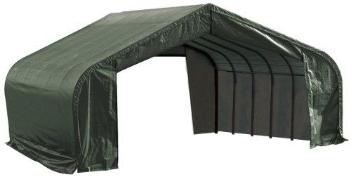 ShelterLogic-82044-Green-22x20x12-Peak-Style-Shelter-0