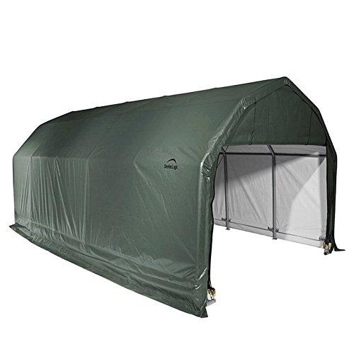 ShelterLogic-Outdoor-BoatVehicle-20-Foot-Green-Storage-Shed-0