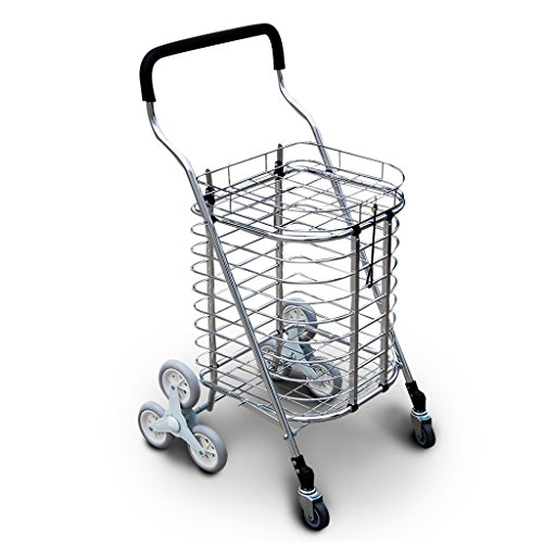 Shopping-cart-hand-Push-car-Aluminum-alloy-foldable-portable-buy-dish-car-hand-Push-car-0-1