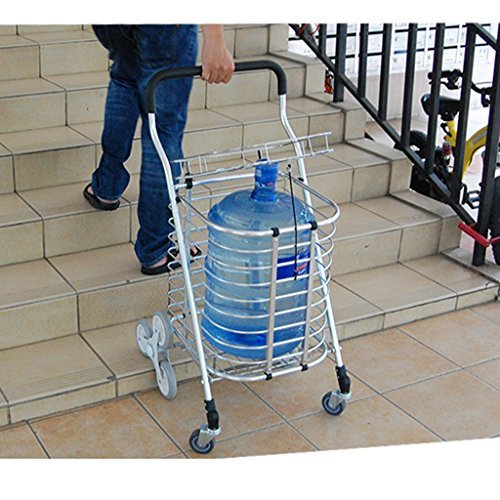 Shopping-cart-hand-Push-car-Aluminum-alloy-foldable-portable-buy-dish-car-hand-Push-car-0-2