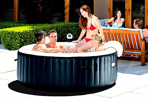 Skroutz-Inflatable-Spas-And-Hot-Tubs-6-Person-Portable-Heated-Bubble-Cobalt-Blue-Color-0