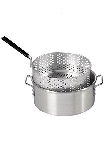 Smart-Cook-10-quart-Aluminum-Fry-Pot-with-Basket-and-Lid-0-0