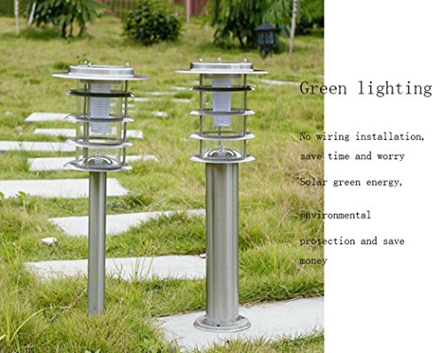 Solar-Lawn-LightStainless-Steel-Outdoor-Garden-Light-IP65-Waterproof-LandscapePathway-Lamp-For-Patio-Lawn-Yard-Walkway-Easy-Install-No-Wires-0-0