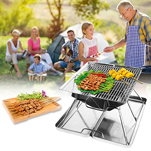 Sondre-Portable-Camping-Grill-with-Bag-Foldable-BBQ-Grill-Charcoal-Grill-Stainless-Steel-0-1