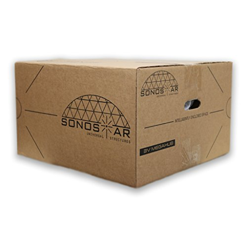 Sonostar-Hub-Geodesic-3V-58-1-15-PVC-Mega-Hub-Only-Scaleable-Dome-Connector-Kit-White-USE-WITH-1-PVC-2-Bolts-0-2