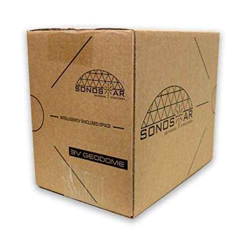 Sonostar-Hub-Geodesic-3V-58-12-PVC-Standard-Hub-Only-Scaleable-Dome-Connector-Kit-White-0-0
