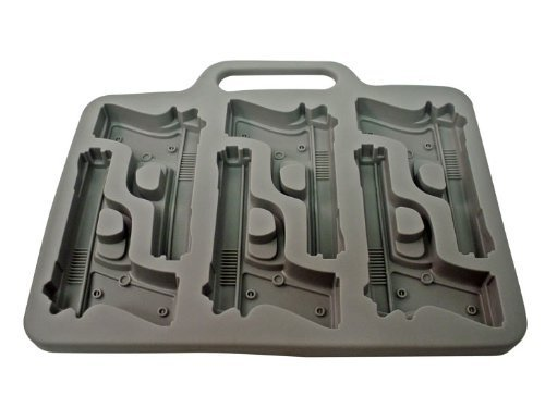 Southern-Homewares-Gun-Ice-Cube-Tray-Garden-Lawn-Maintenance-0