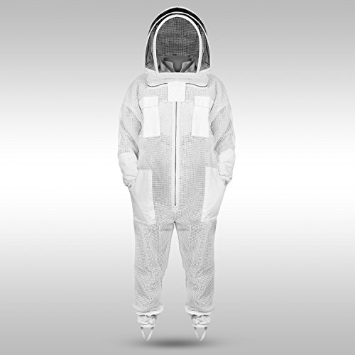 Sparx-Sports-Ventilated-Beekeeping-Suit-Clear-View-Fencing-Veil-Keep-Cool-Comfortable-with-Maximum-Protection-Professional-Beginner-Beekeepers-with-Gloves-0-0