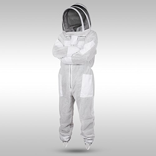 Sparx-Sports-Ventilated-Beekeeping-Suit-Clear-View-Fencing-Veil-Keep-Cool-Comfortable-with-Maximum-Protection-Professional-Beginner-Beekeepers-with-Gloves-0-1