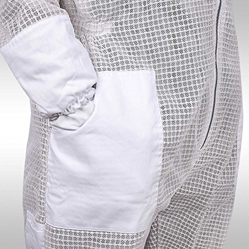 Sparx-Sports-Ventilated-Beekeeping-Suit-Clear-View-Fencing-Veil-Keep-Cool-Comfortable-with-Maximum-Protection-Professional-Beginner-Beekeepers-with-Gloves-0-2