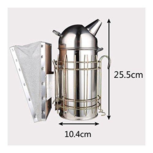 Stainless-Steel-Leather-Bee-Smoker-Beekeeping-0-1