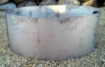 Stainless-Steel-Round-Metal-Fire-Pit-Ring-14-Deep-x-45-Diameter-0-0
