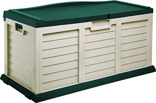 Starplast-Deck-Box-with-Sit-On-Cover-103-Gallon-BeigeGreen-0