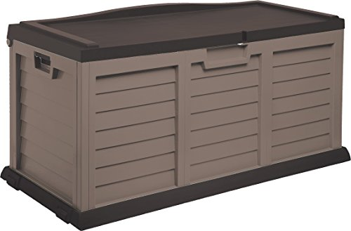 Starplast-Deck-Box-with-Sit-On-Cover-103-Gallon-MochaBrown-0