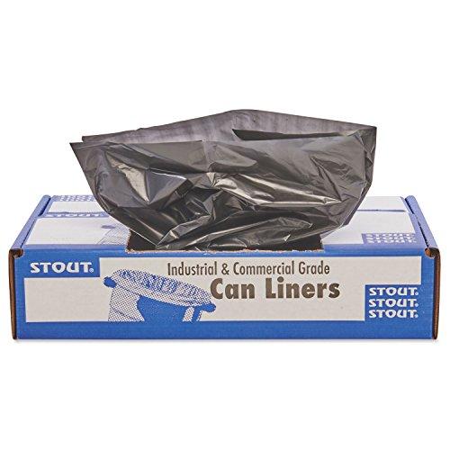 Stout-T5051B15-100-Recycled-Plastic-Garbage-Bags-65gal-15mil-50×51-BrownBlack-100CT-0-0