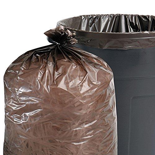 Stout-T5051B15-100-Recycled-Plastic-Garbage-Bags-65gal-15mil-50×51-BrownBlack-100CT-0