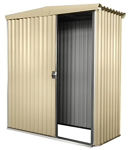 Stratco-Storage-Shed-61-ft-x-51-ft-x-62-ft-Utility-Garden-Shed-Pre-Painted-Steel-Construction-With-Sliding-Door-Easy-To-Assemble-0