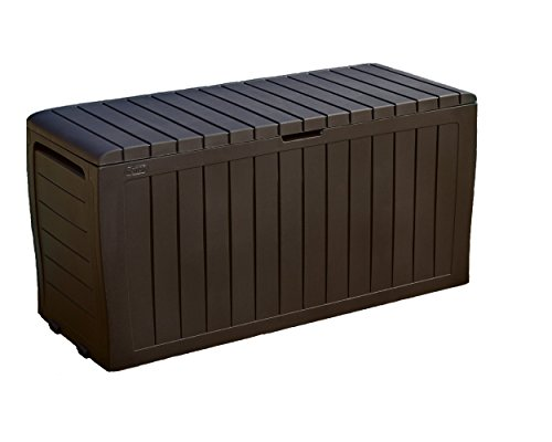 Stylish-Outdoor-Storage-Deck-Box-Durable-Polypropylene-Construction-For-Both-Interior-And-Exterior-Use-Keeps-Items-Dry-And-Well-Ventilated-Appealing-Decorative-Paneled-Design-Easy-To-Move-0