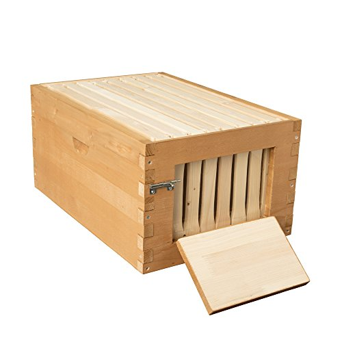 SummerHawk-Ranch-Quick-Check-Super-3-YEAR-Warranty-includes-Quick-Check-Frames-Honeycomb-Foundation-Great-for-Backyard-Bee-hive-Extension-Beekeeping-Equipment-0