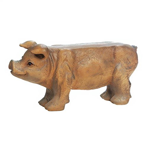 Summerfield-Terrace-Garden-Bench-Small-Pig-Porch-Seat-Patio-Decorative-Outdoor-Bench-Backless-0