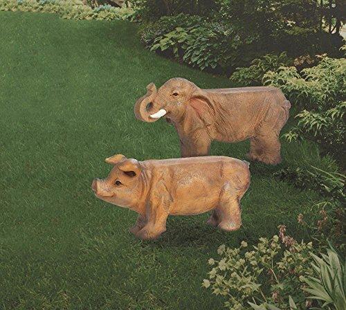 Summerfield-Terrace-Outdoor-Patio-Bench-Small-Elephant-Garden-Decorative-Backless-Bench-Outdoor-0-0