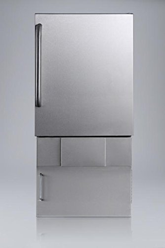 Summit-BIM24OSBase34-cemaker-Stainless-Steel-0