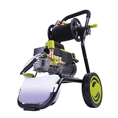 Sun-Joe-SPX9006-PRO-215-HP-1300-PSI-2-GPM-Commercial-Pressure-Washer-with-Roll-Cage-and-Hose-Reel-0