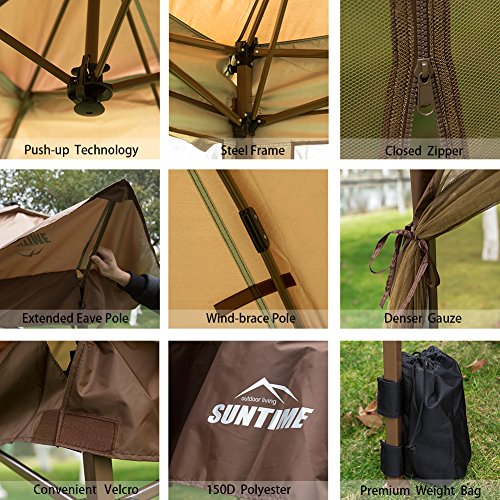 SunTime-12-x-12-Pop-Up-Canopy-Outdoor-Party-Event-Tent-Sidewalls-0-1