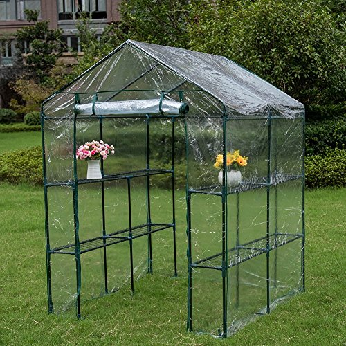 Sundale-Outdoor-Patio-Garden-Greenhouse-and-PVC-Cover-0
