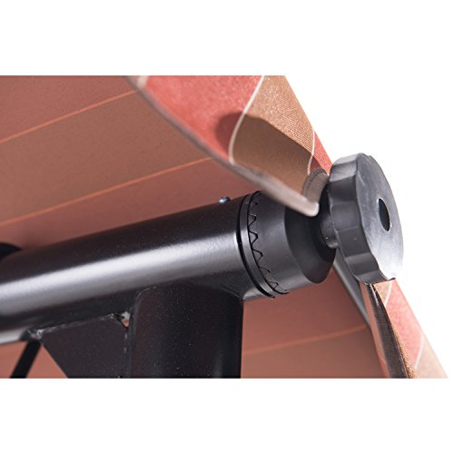 Sunjoy-3-Seat-Striped-Adjustable-Tilt-Canopy-Wicker-Metal-Swing-0-1