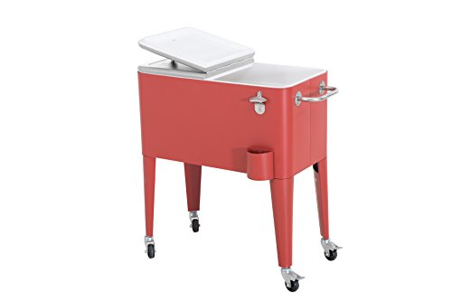 Sunjoy-60-quart-Red-Steel-Beverage-Cooler-0-0
