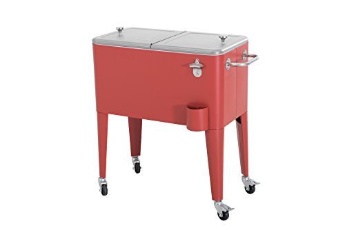 Sunjoy-60-quart-Red-Steel-Beverage-Cooler-0-1